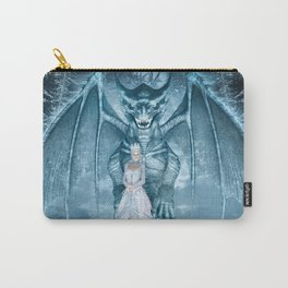 Ice Queen and Dragon Carry-All Pouch