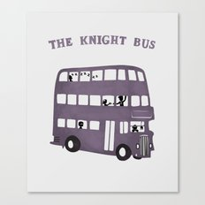 The Knight Bus Canvas Print