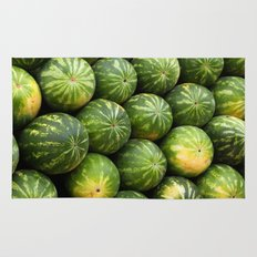 Melon fruit pattern Rug