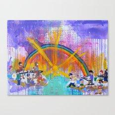 YBB + Gunpoets Play in Heaven Canvas Print