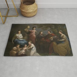 Angelica Kauffman - The Family of the Earl of Gower (1772) Rug