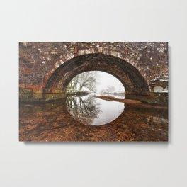 Two Bridges Metal Print