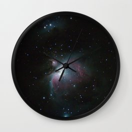 Orion Nebula (vertical mode) Wall Clock