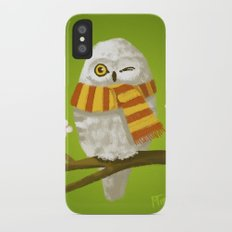 Spring Owl iPhone X Slim Case