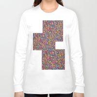 mosaic Long Sleeve T-shirts featuring Mosaic by Juliana Kroscen