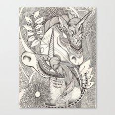 Inner princess Canvas Print