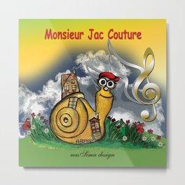 Monsieur Jac Couture Metal Print
