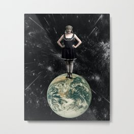 Miss World Metal Print