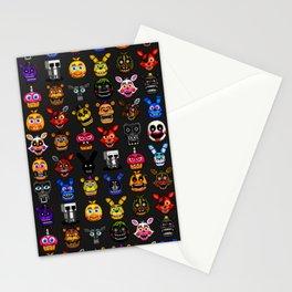 FNAF pixel art Stationery Cards
