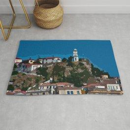 Poros Island - Greece Rug
