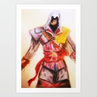assassins creed Art Prints featuring Assassins Creed by Rochelle Smith