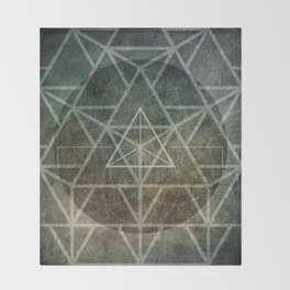 Tetrahedron Ignis Throw Blanket