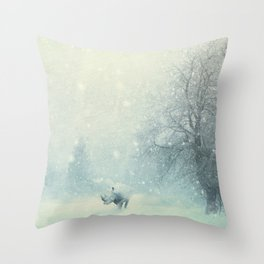 Different dont mean weak Throw Pillow