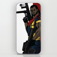 kate bishop iPhone & iPod Skins featuring Bishop by Andrew Formosa
