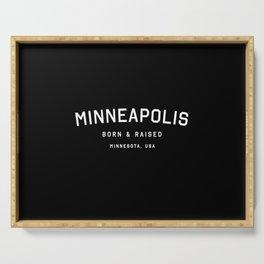 Minneapolis - MN, USA (Arc) Serving Tray