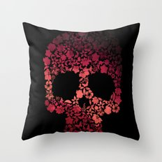 Pirate of flowers couette colors urban fashion culture Jacob's 1968 Agency Paris Throw Pillow