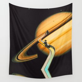 Saturn escape Wall Tapestry