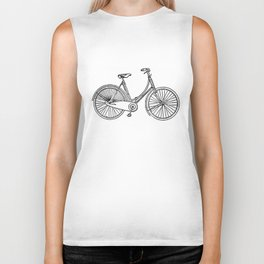 Vintage American Bicycle Diagram Biker Tank