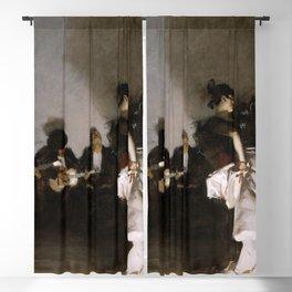 John Singer Sargent - El Jaleo Blackout Curtain