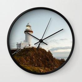 Byron Bay Lighthouse Wall Clock