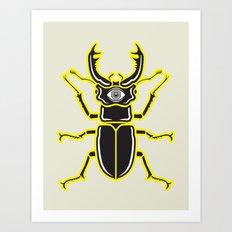 Nightmare Beetle Art Print