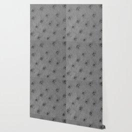 Ostrich leather effect (light grey) Wallpaper