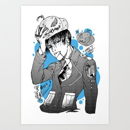 Halloween-Levi! Art Print