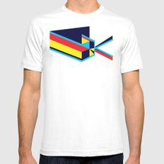Convergence MEDIUM Mens Fitted Tee White