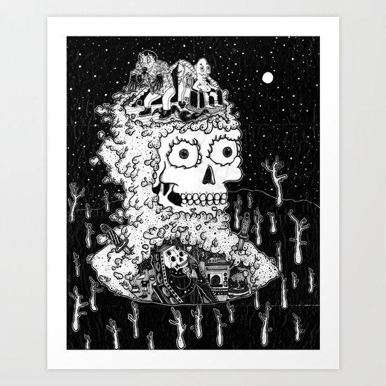 DIE TOLCHE Art Print