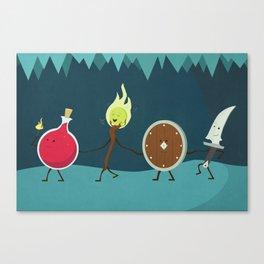 Let's All Go On an Adventure Canvas Print