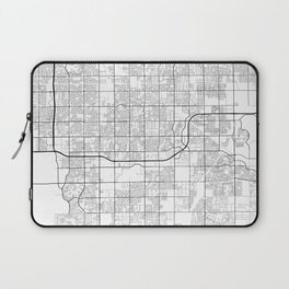 Minimal City Maps - Map Of Gilbert, Arizona, United States Laptop Sleeve