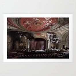 Paramount Theater Art Print