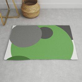 'Cirlcle of Life' Modern Art   Spots   Dots   Modern home Rug