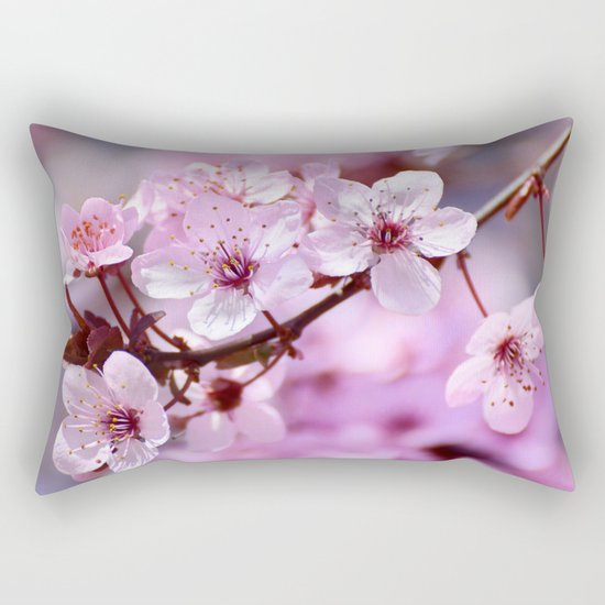 """""""Pink dreams"""". Spring is here. Rectangular Pillow"""
