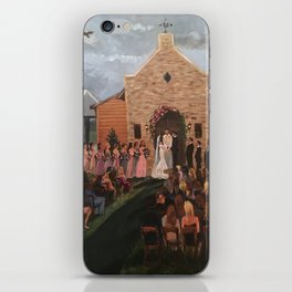 Williams-Whittle Wedding in Houston TX iPhone Skin
