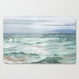 Oceanscape of Anna Maria Island Florida. Cutting Board