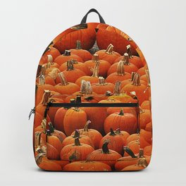 More than a peck of pumpkins at Peck's Produce Farm Market! Backpack