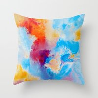 Meld Throw Pillow
