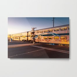 Train to a Dream Metal Print