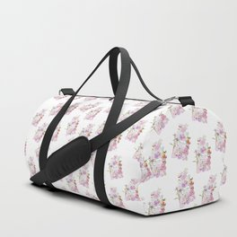 Parfum Perfume Fashion Floral Flowers Blooming Bouquet Duffle Bag