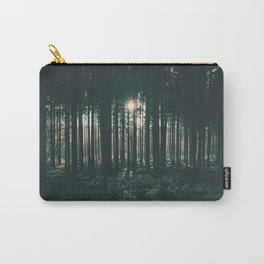 Sun through the Woods Carry-All Pouch