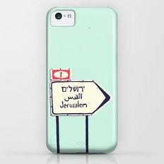 Jerusalem This Way iPhone 5c Slim Case