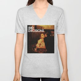the bad decision strokes band tour 2020 ngamein Unisex V-Neck
