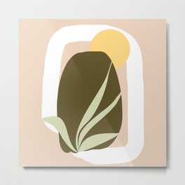 Abstract modern Metal Print
