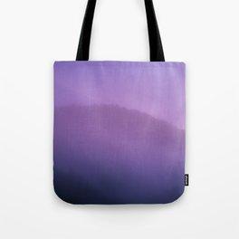 Morning Fog - Landscape Photography Tote Bag