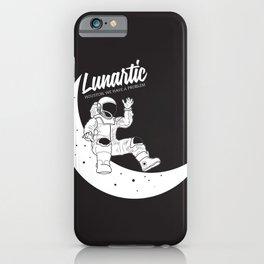 Lunartic iPhone Case