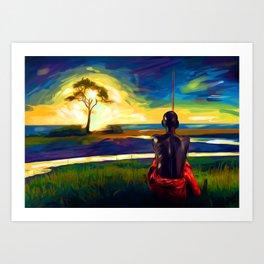 In Your Solitude Art Print