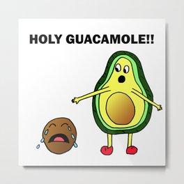 Holy Guacamole!! Metal Print