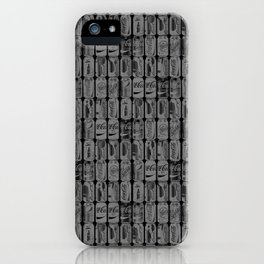 Blk Cans #2 iPhone Case