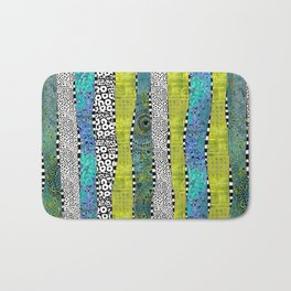Happy Stripe Bath Mat